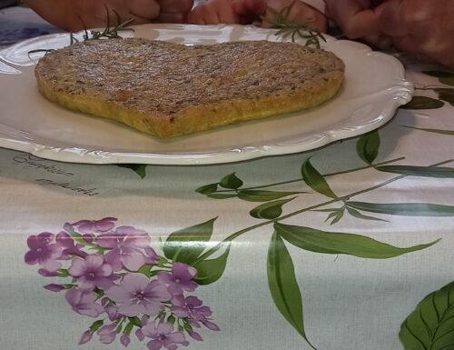 Frittata al forno con prezzemolo, rosmarino e gamberetti 🦐🦐