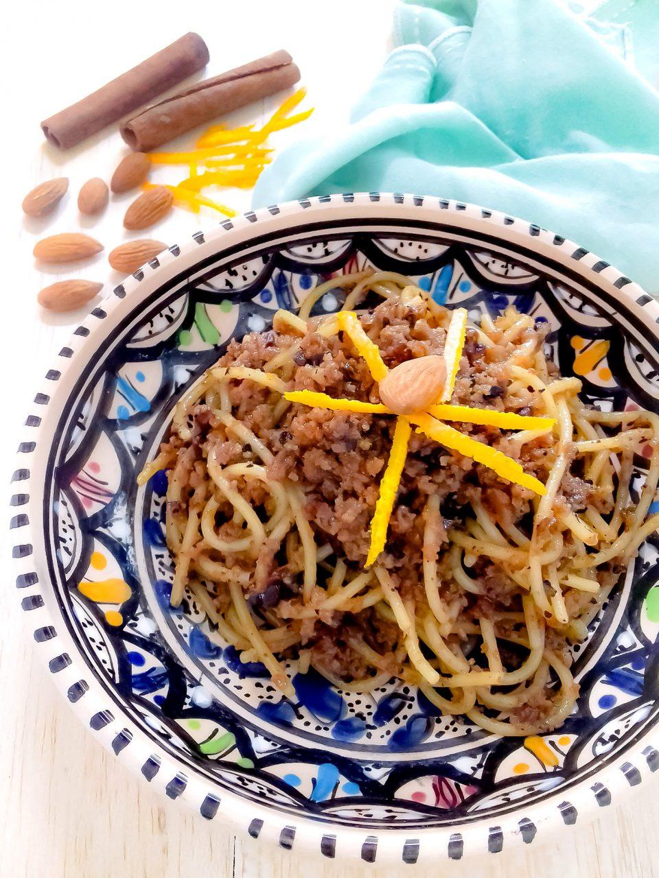 spaghetti con il miele ricetta siciliana