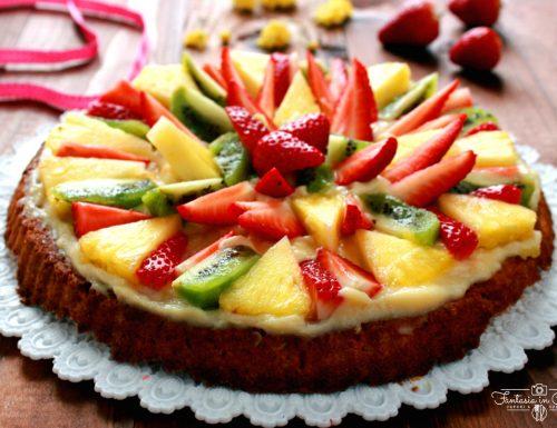 Ricetta: crostata di frutta classica.