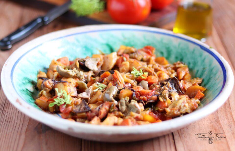Ricetta caponata siciliana
