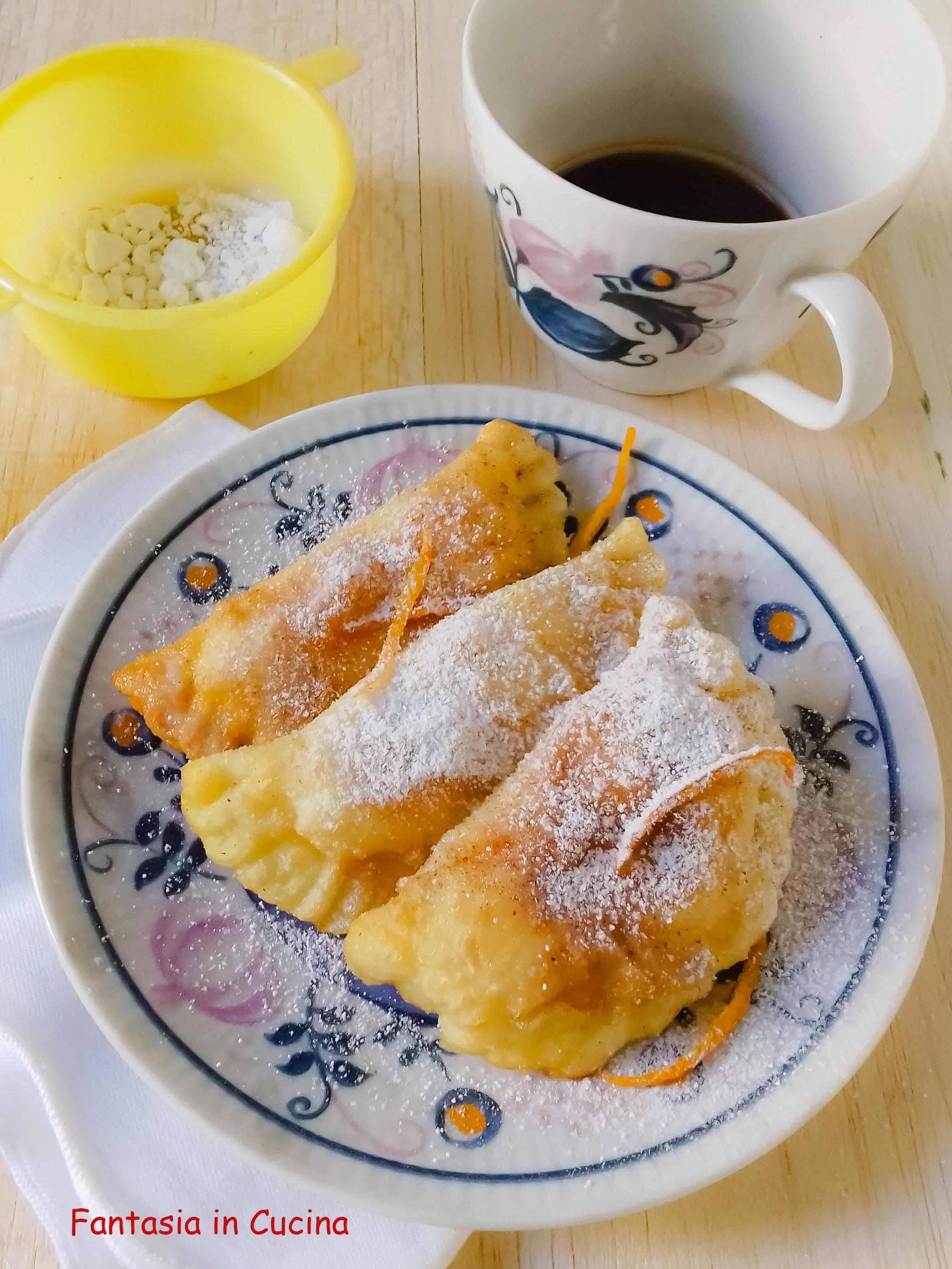 Ravioli di ricotta dolci ricetta siciliana