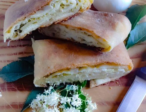 Scaccia con il fiore di sambuco: ricetta siciliana.