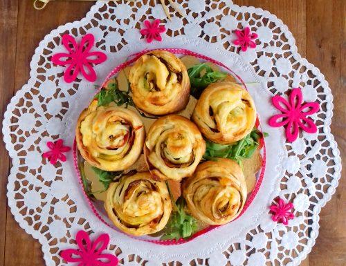 Ricetta rose di zucchine in sfoglia al forno