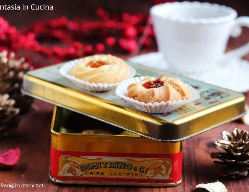 Biscottini al miele e marmellata