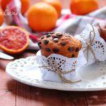 Muffin arancia e cioccolato di Modica