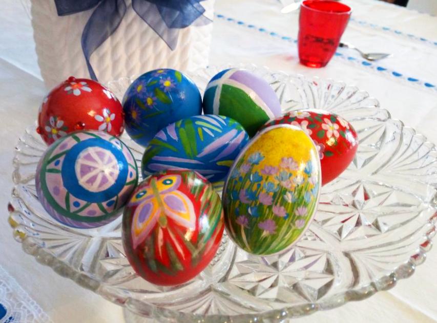 Le uova di Pasqua segnaposto