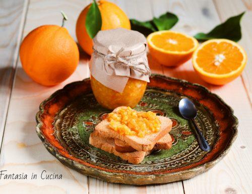 Ricetta: marmellata di arance