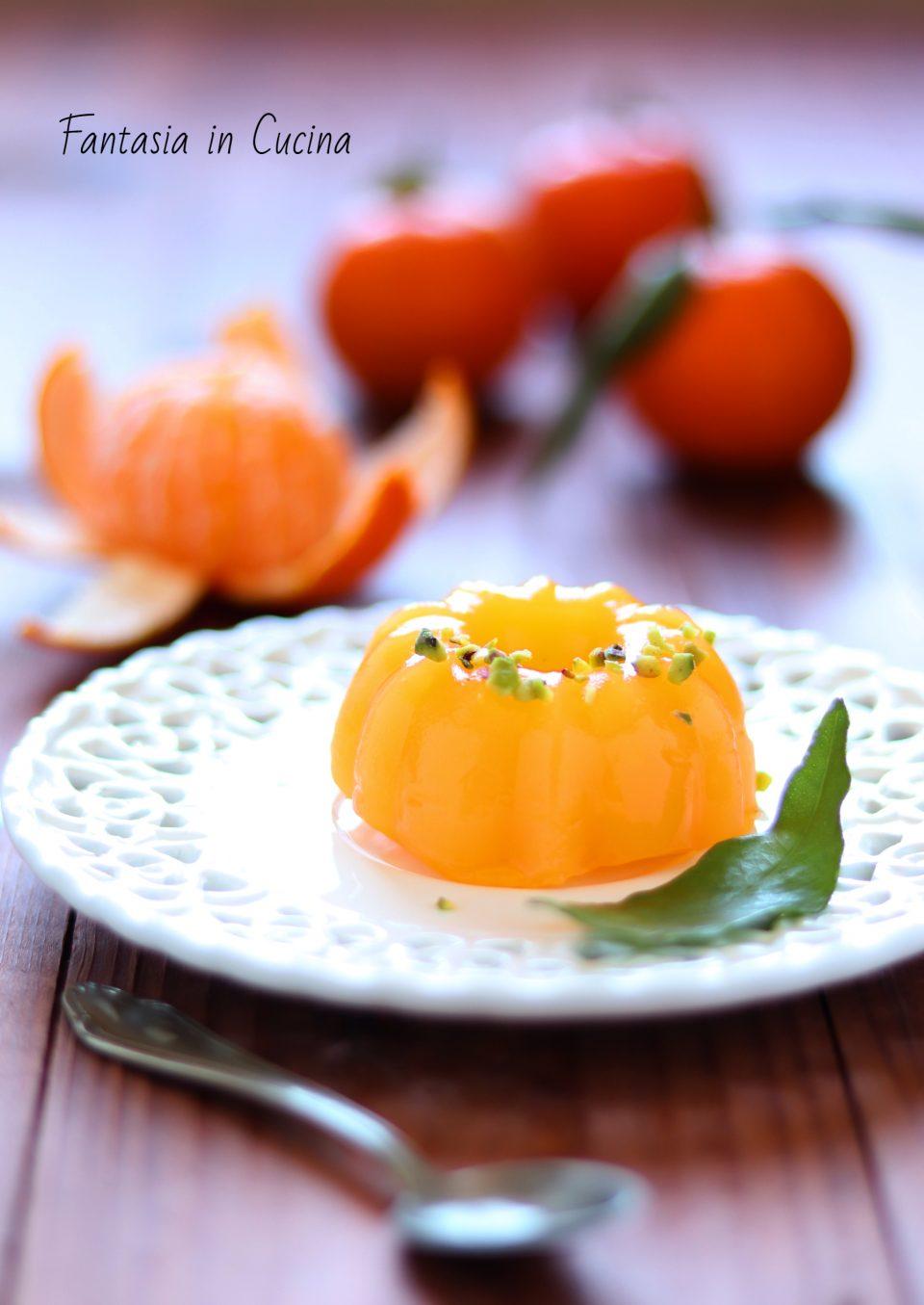 Gelo di mandarino: ricetta siciliana
