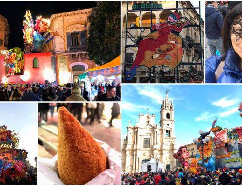 Al Carnevale di Acireale trionfano i fiori e lo street food