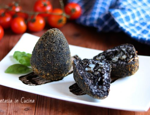 Ricetta: arancini al nero di seppia