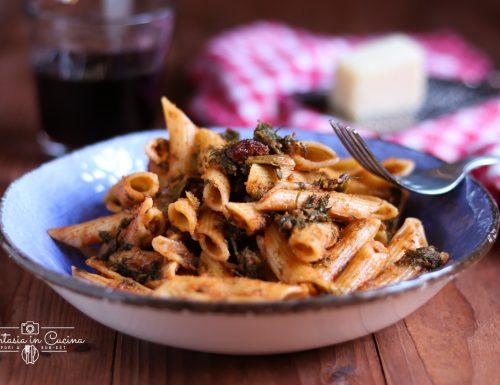 Ricetta: pasta con il finocchietto selvatico.