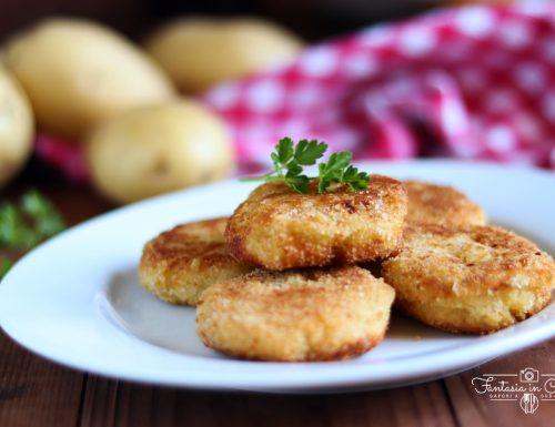 Polpette di patate fritte alla Siciliana