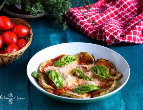 Parmigiana di zucchine tradizionale