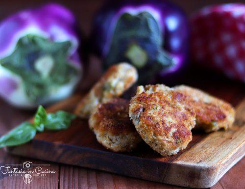Ricetta: polpette di melanzane alla siciliana