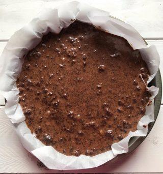 Torta di riso al cioccolato morbida