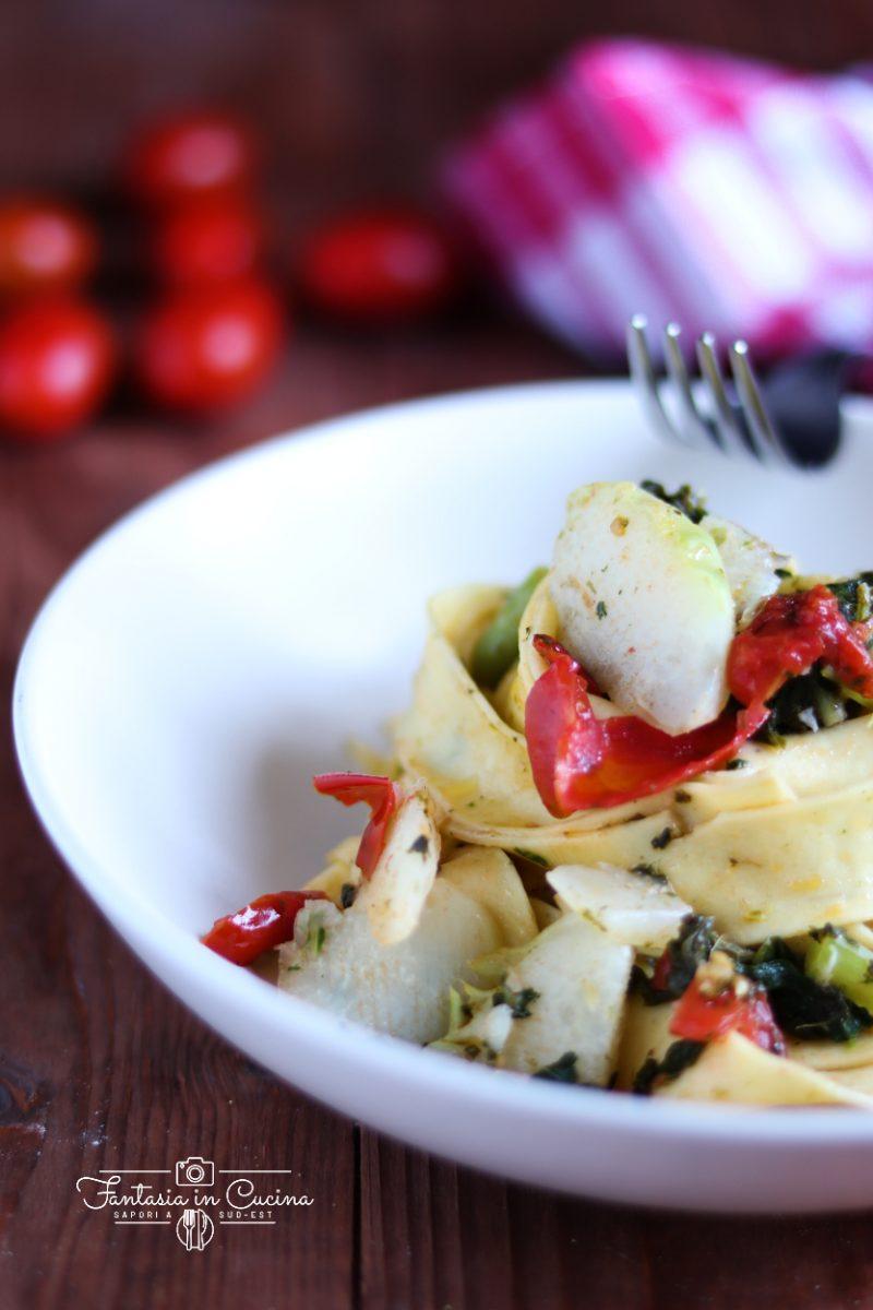 Pasta cavoli e pomodoro ricetta siciliana