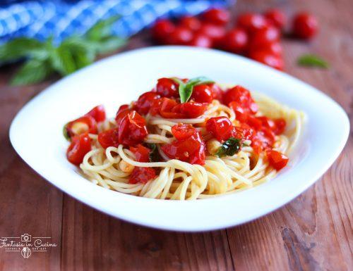 Spaghetti alla picchio pacchio: ricetta siciliana.