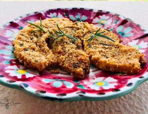 Ricetta: zucca gialla gratinata.