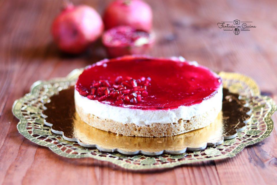 Cheesecake alla melagrana: ricetta facile