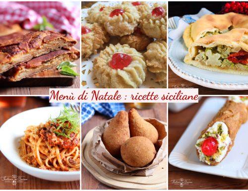 Menù di Natale: ricette Siciliane