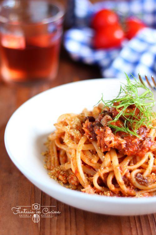 Pasta con le sarde fresche alla siciliana