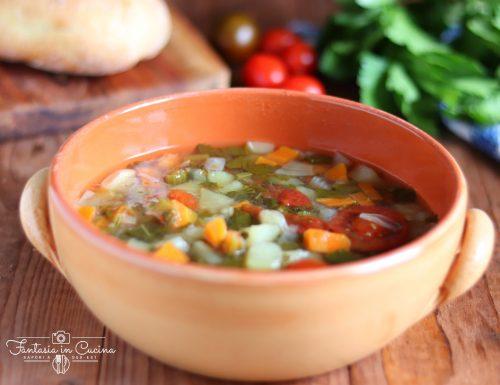 Minestrone del Giovedì grasso: ricetta siciliana