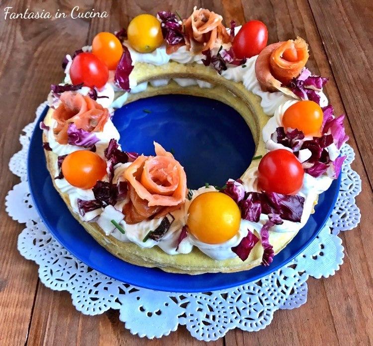 Cream tart salata: l'antipasto scenografico