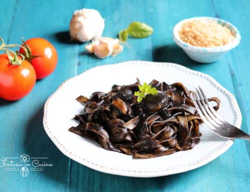Linguine al nero di seppia, la ricetta di Adelina