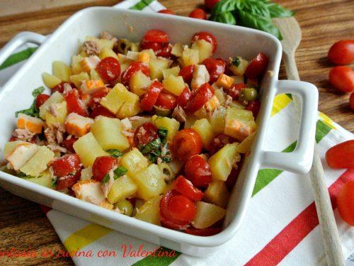 Insalata di patate leggera