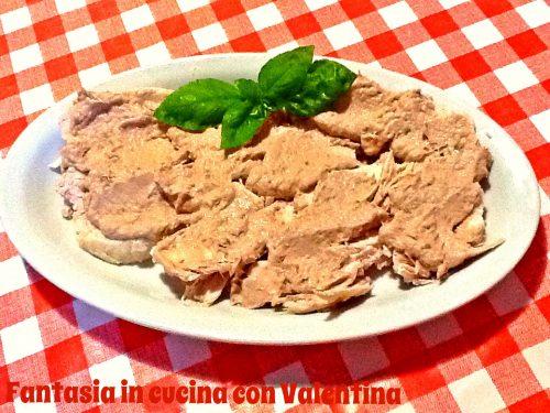 Petto di pollo con salsa tonnata