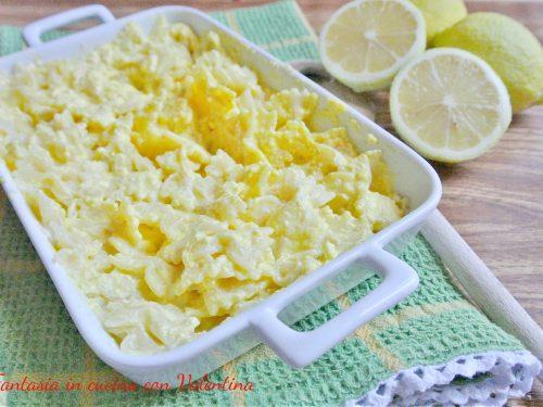 Pasta ricotta limone e zafferano