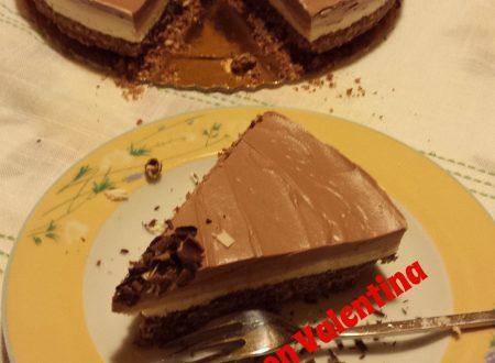 Cheese cake triplo cioccolato