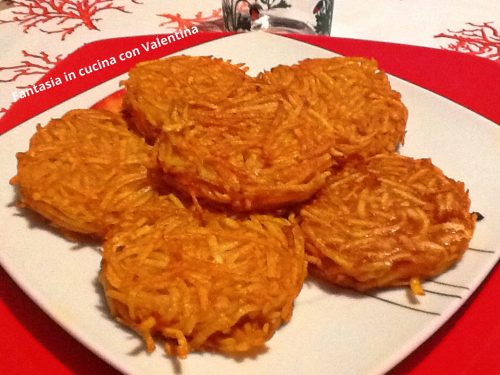 Rosti di patate alla paprika piccante
