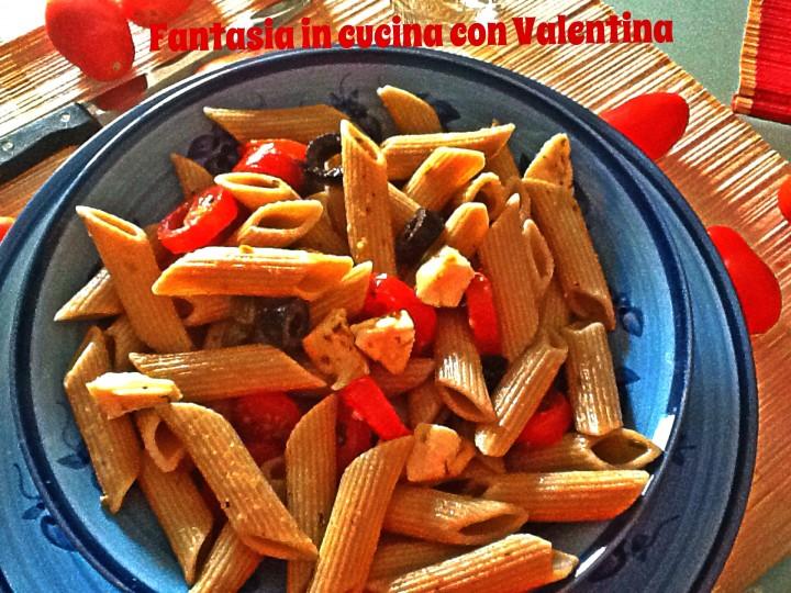 insalata di pasta integrale