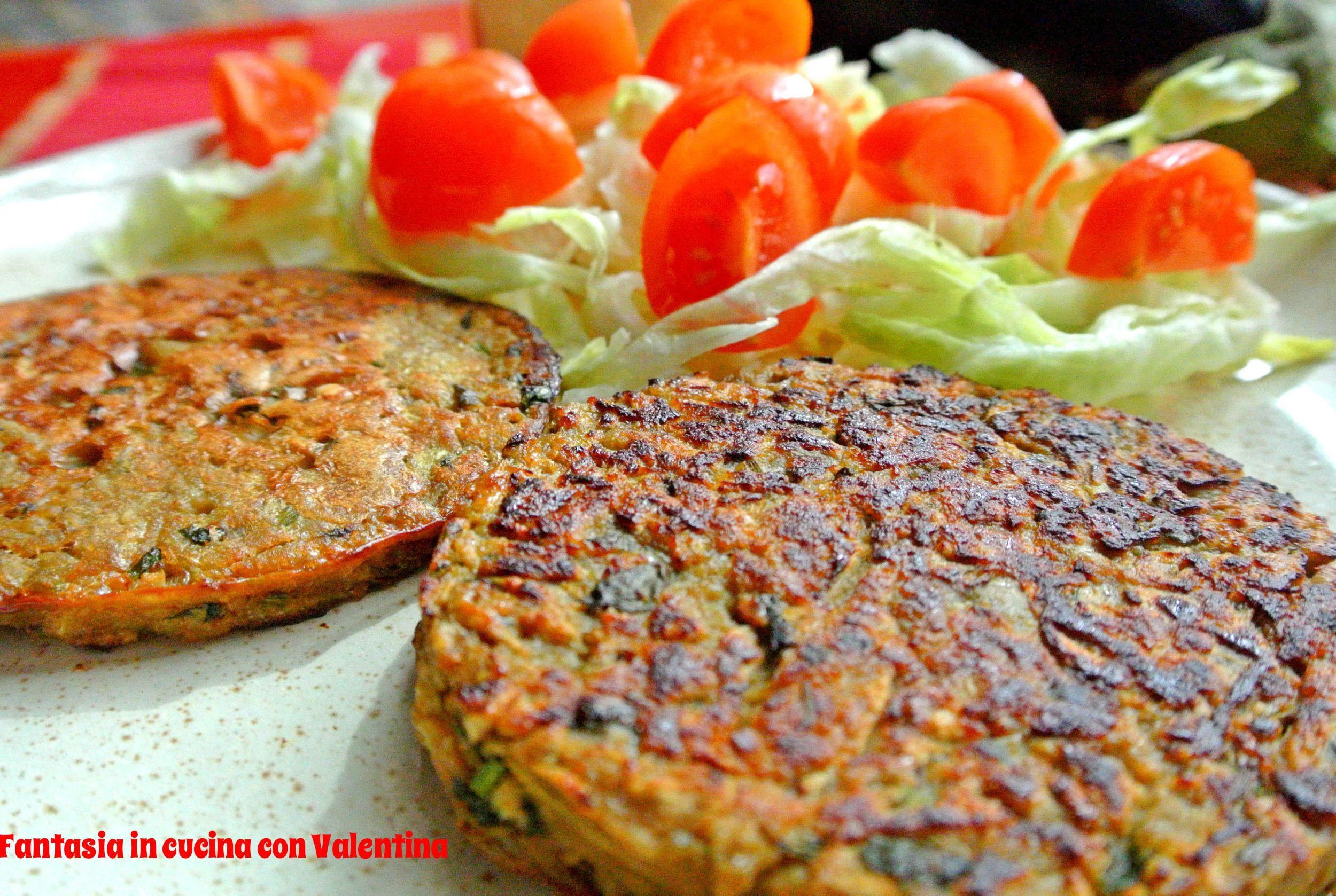 Estremamente Hamburger di Maiale e bovino   FANTASIA IN CUCINA CON VALENTINA UX59