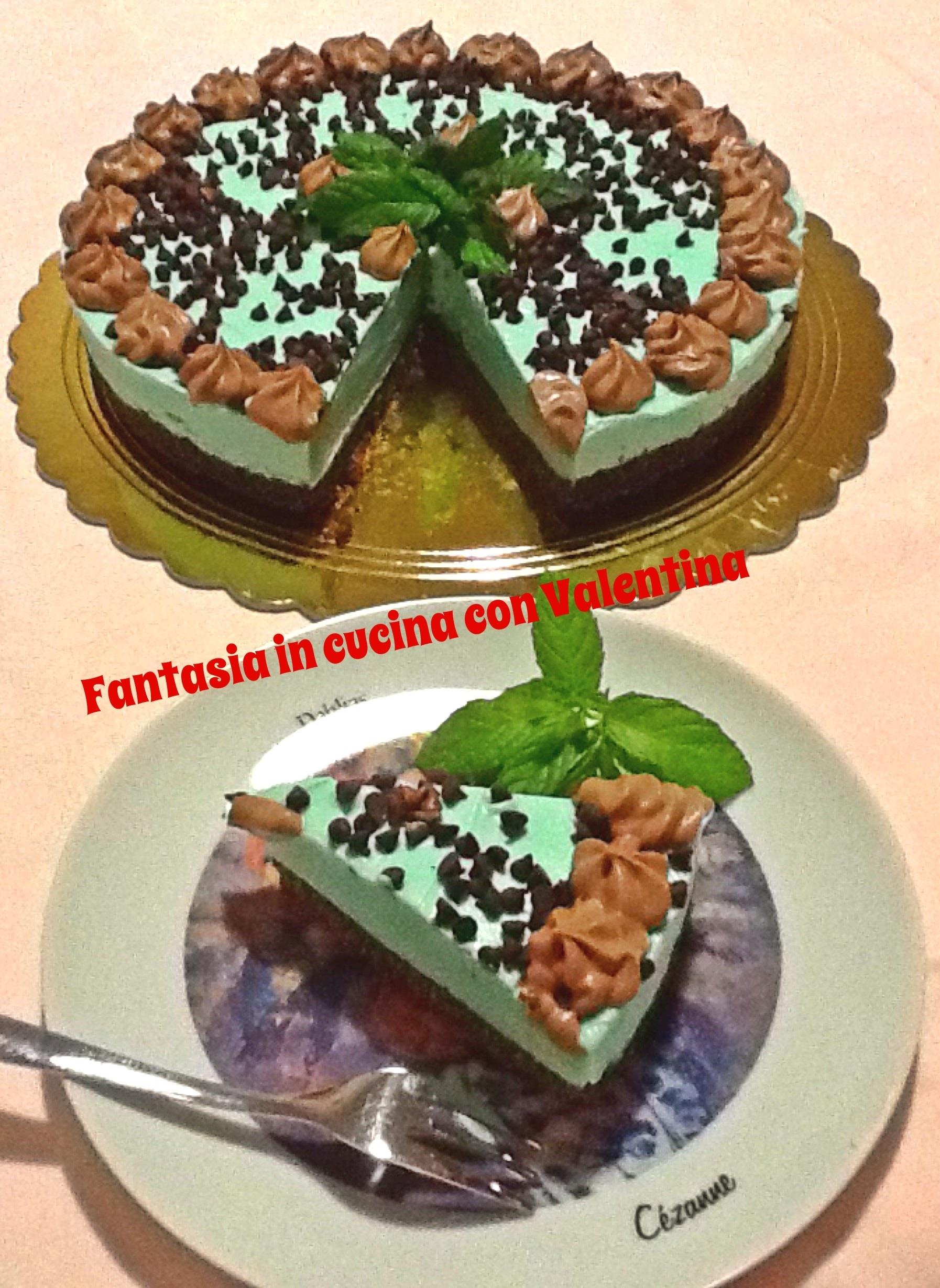Cheese cake menta ciocco