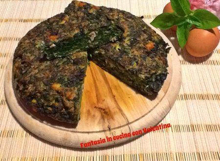 Frittata spinaci e pancetta