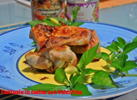 Alette di pollo miele e peperoncino