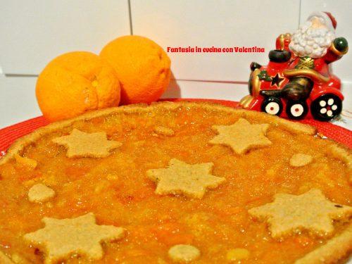 Crostata integrale all'arancia
