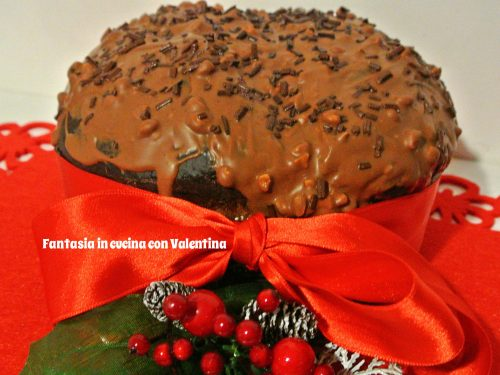 Panettone al cioccolato rapido