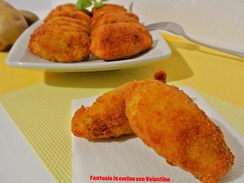 Quenelle di patate, zucca e pecorino