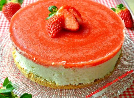 Cheese cake Fragole e mascarpone