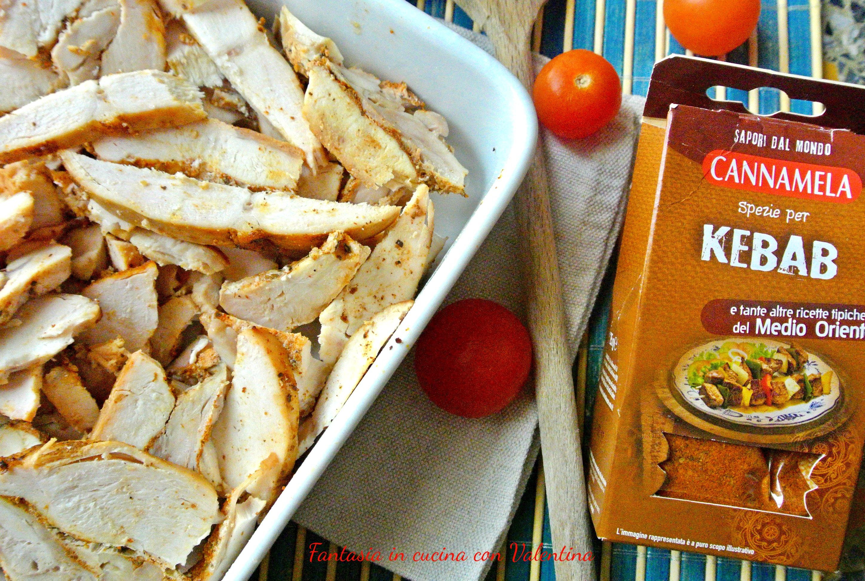 Kebab di pollo - Cucinare con Vita