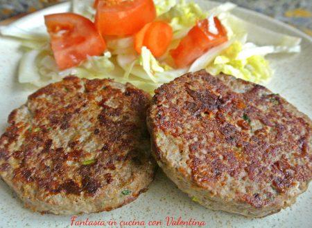 Hamburger di Maiale e bovino