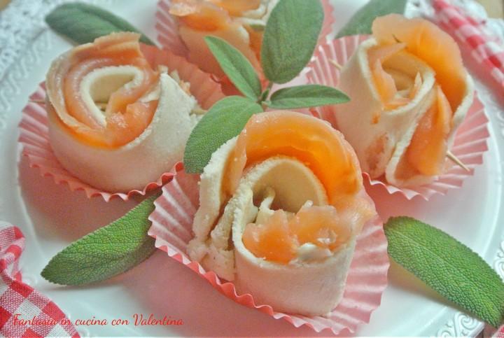 rose di salmone affumicato