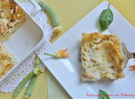 Lasagne zucchine e provola