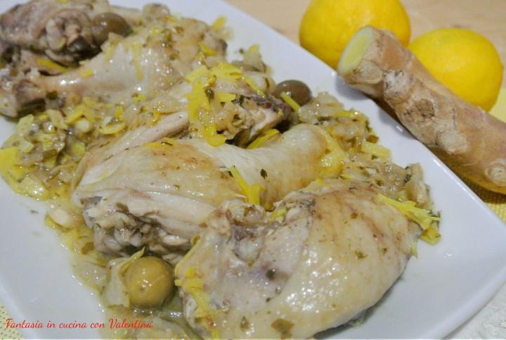 pollo al limone e zenzero