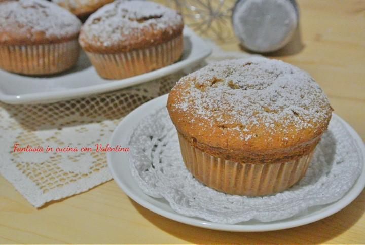 Muffin datteri fichi e prugne secche