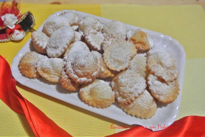 Ravioli dolci di ricotta e limone