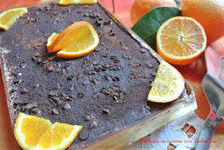 Tiramisù ciocco arancia